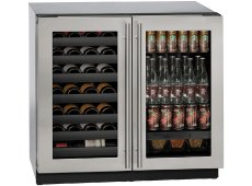 U-Line - U-3036BVWCS-00B - Wine Refrigerators and Beverage Centers