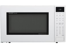 Sharp - SMC1585BW - Built-In Microwaves With Trim Kit