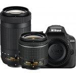Nikon D3400 Black Digital SLR Camera Two Lens Kit