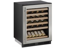 U-Line - U-1224WCS-00B - Wine Refrigerators and Beverage Centers