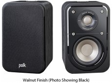 Polk Audio - S10WAL - Bookshelf Speakers