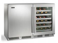 Perlick - HP48WO-S-3-1L-3R - Wine Refrigerators and Beverage Centers