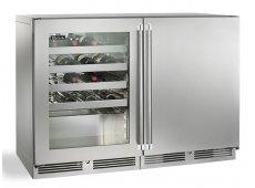 Perlick - HP48WO-S-3-3L-1R - Wine Refrigerators and Beverage Centers