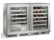 Perlick - HP48WO-S-3-3L-3R - Wine Refrigerators and Beverage Centers