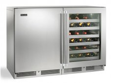 Perlick - HP48WW-S-3-3L-1R - Wine Refrigerators and Beverage Centers