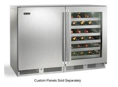 Perlick - HP48WW-S-3-2L-4R - Wine Refrigerators and Beverage Centers