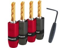 Audioquest - BFASUREGRIP300G4PK - Audio Cables