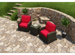 Parrot Island - STM-3CH-EB-FB - Patio Seating Sets