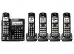 Panasonic - KX-TGF545B - Cordless Phones