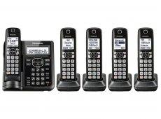 Panasonic - KX-TGF545B - Cordless Phones