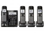 Panasonic - KX-TGF544B - Cordless Phones