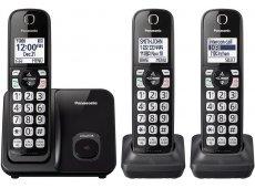 Panasonic - KX-TGD513B - Cordless Phones