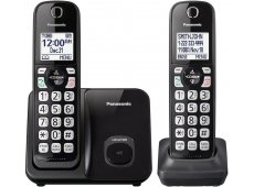 Panasonic - KX-TGD512B - Cordless Phones