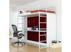 Leto Muro - ABEL10-WH-BR - Bed Sets & Frames