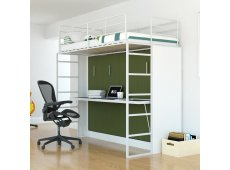 Leto Muro - ABEL10-WH-OL - Bed Sets & Frames