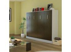 Leto Muro - ALEX10LD-WH-AN - Bed Sets & Frames