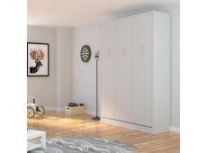 Leto Muro - ALEX10PQ-WH-WH - Bed Sets & Frames