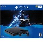 Sony PlayStation 4 Slim 1TB Star Wars Battlefront II Bundle