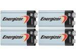 Energizer - 9V4PACK-E - Alkaline Batteries