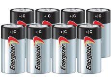 Energizer - C8PACK-E - Alkaline Batteries