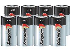 Energizer - D8PACK-E - Alkaline Batteries