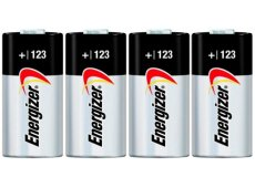 Energizer - CR123A-4PACK-E - Digital Camera Batteries & Chargers