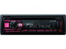 Alpine - CDE-170 - Car Stereos - Single DIN