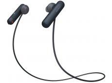 Sony - WI-SP500/B - Earbuds & In-Ear Headphones