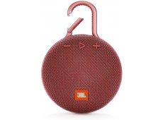 JBL - JBLCLIP3RED - Bluetooth & Portable Speakers