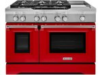KitchenAid - KDRS483VSD - Dual Fuel Ranges
