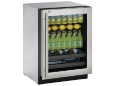 U-Line - U-3024BEVS-13B - Wine Refrigerators and Beverage Centers