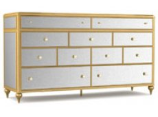 Hooker - 1586-90002A-GLD1 - Dressers & Chests