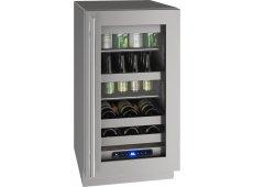 U-Line - UHBV518-SG01A - Wine Refrigerators and Beverage Centers