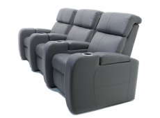 Palliser - 41416-3PC-TULSA2M-STORM - Home Theater Seating