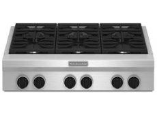 KitchenAid - KGCU467VSS - Rangetops