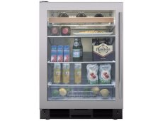 Sub-Zero - UC-24BG/S/TH-LH - Wine Refrigerators and Beverage Centers