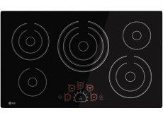 LG - LCE3610SB - Electric Cooktops
