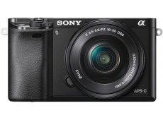 Sony - ILCE-6000L/B - Digital Cameras