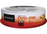 Sony - 25DMW47SPM - Recordable DVD Discs