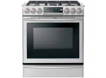 Samsung - NX58H9500WS - Slide-In Gas Ranges