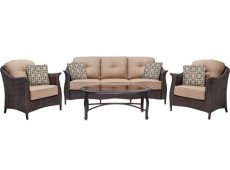 Hanover - GRAMERCY4PC - Patio Seating Sets