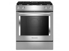KitchenAid - KSDG950ESS - Slide-In Gas Ranges