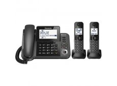 Panasonic - KX-TGF382M - Corded Phones
