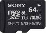 Sony - SR64UY2A/TQ - Memory Cards