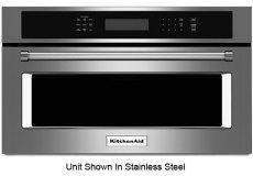 KitchenAid - KMBP100EBS - Built-In Drop Down Microwaves