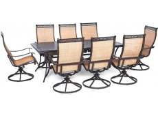 Hanover - MANDN9PCSW-8 - Patio Dining Sets