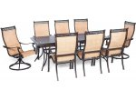Hanover - MANDN9PCSW-2 - Patio Dining Sets