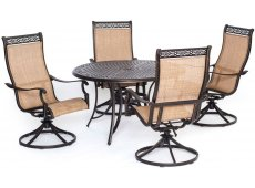 Hanover - MANDN5PCSW-4 - Patio Dining Sets