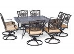 Hanover - TRADDN9PCSWSQ-8 - Patio Furniture