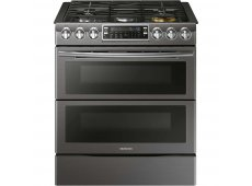 Samsung - NX58K9850SG - Slide-In Gas Ranges